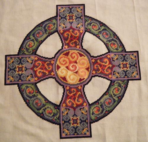 Celtic Cross Finished